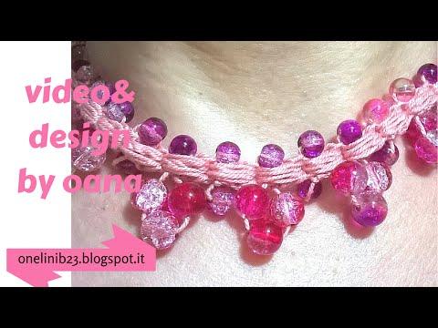 uncinetto - come realizzare un collier