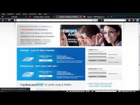 Homepage lll Kostenlos Webspace bestellen