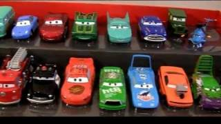 20 CARS Complete Deluxe Set SALLY Tractor Tipping Disney Toys The King Pixar Radiator Springs