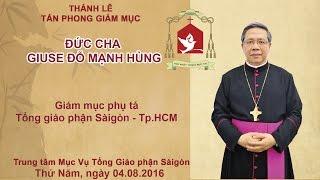 Tan Phong Vietnam  city photo : Thánh lễ Tấn phong Giám mục Giuse Đỗ Mạnh Hùng