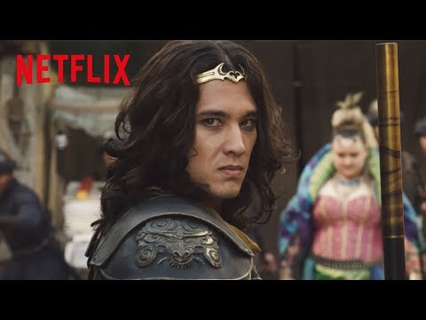 A Battle in the Streets | The New Legends of Monkey | Netflix Futures