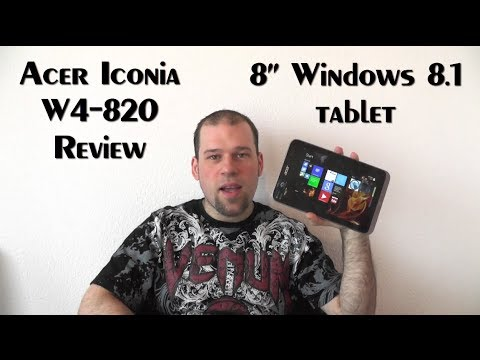 "Acer Iconia W4-820 Review - 8"" Windows 8.1 Tablet"