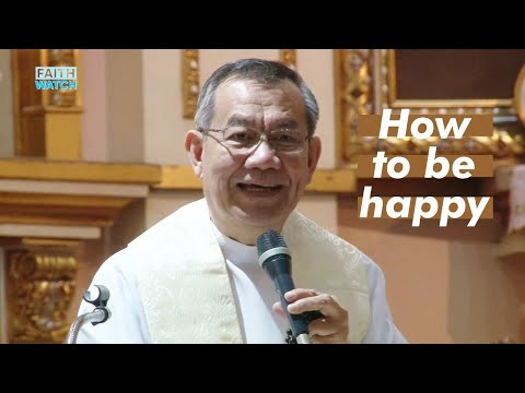 HOW TO BE HAPPY when life is full of problems, sickness, worries, etc |  w/ Fr. Jerry Orbos, SVD