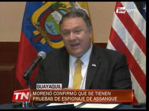 Gobierno de EE.UU. destaca cambios en Ecuador y compromete ayuda para el país