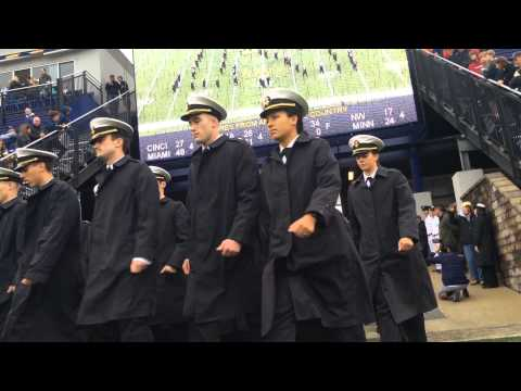 Navy March On (Navy Vs VMI 10/11/2014)