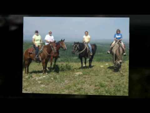 Riding Horses in Canada