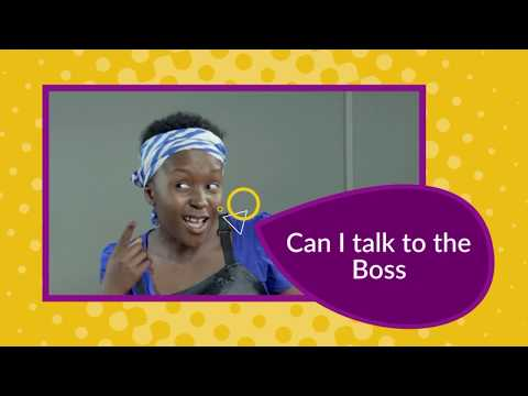 Can I Talk To The Boss. Kansiime Anne. African Comedy.
