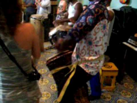Les Tambours de Brazza - workshop em Salvador - BA