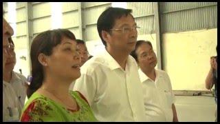 Bí thư Tỉnh ủy Nguyễn Văn Đọc kiểm tra công tác chuẩn bị bầu cử tại TP Uông Bí