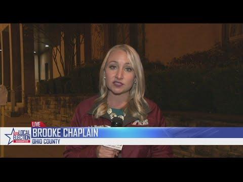 Brooke Live shot,  Election Day 2018, 10 p.m.