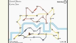 Video Record - Highest score in Mini Metro (4253) Dinopoclup game MP3, 3GP, MP4, WEBM, AVI, FLV September 2017