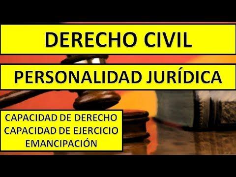 Capacidad de derecho, capacidad de ejercicio y emancipación - Código Civil y Comercial de la Nación