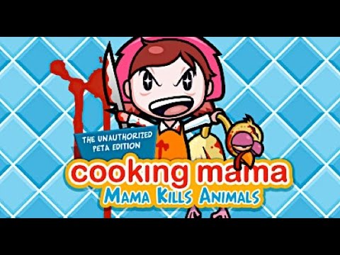 Cooking Mama MAMA KILLS ANIMALS