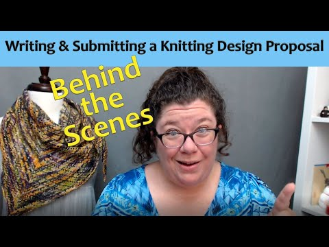 Tips for Writing and Submitting Knitting Design Proposals