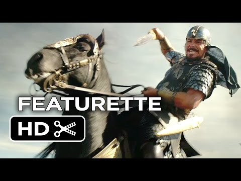 featurette - Subscribe to TRAILERS: http://bit.ly/sxaw6h Subscribe to COMING SOON: http://bit.ly/H2vZUn Like us on FACEBOOK: http://goo.gl/dHs73 Follow us on TWITTER: http://bit.ly/1ghOWmt Exodus: Gods...