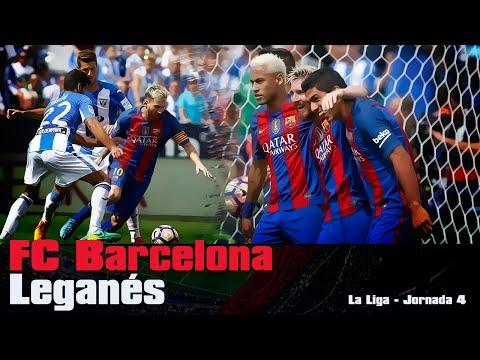 Leganés vs FC Barcelona [1-5][17/09/2016][La Liga - Jornada 4] EL BARÇA JUGA A RAC1