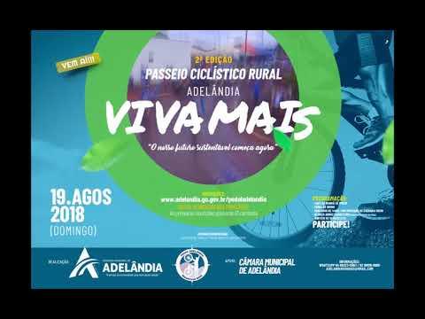CHAMADA DIVULGAÇÃO - ADELÂNDIA VIVA MAIS 2018