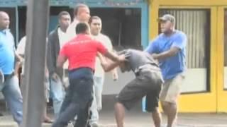 street fight headbutt