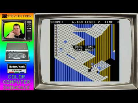 Marble Maze - 1985 - TRS-80 Color Computer Game