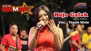 YEYEN VIVIA - BOJO GALAK - New Samba (COVER) Live Sumberteguh