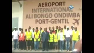 Port Gentil Gabon  City new picture : Inauguration de l'Aéroport de Port-Gentil (Gabon TV)