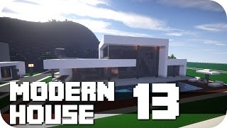 """Minecraft - Modern House #13! More of those modern Buildings (houses, restaurant's, shops, offices) you'll find on my Channel, take a look!►FACEBOOK: https://www.facebook.com/DaxMatic►GOOGLE+: https://plus.google.com/+DaxMatic/posts►DOWNLOAD: none at the moment. It's the Map by another Server Member so I'm not allowed to upload it...............................................................................................« CINEMATICS (PLAYLISTS) »► EPIC! - Series: http://bit.ly/1OuH1UC► TexturePacks: http://bit.ly/1DpXNhu► RollerCoasters: http://bit.ly/1DYCFUe► Server-Map: http://bit.ly/1Eh9f5J► Mansions: http://bit.ly/1xrKO1q► Modern Buildings: http://bit.ly/1AewzwC► Ships/Yachts: http://bit.ly/1wYEo8Q..............................................................................................« CREDITS »► Intro: https://www.youtube.com/user/WinstonePicture► Outro: https://www.youtube.com/user/OffTM4► Music: Tobu - Sound of Goodbye► My Server: mc.paradisefalls.eu - /warp WhiteHills..............................................................................................« ABOUT THE MAP »This Map is build by another Server Member, his channels you'll find here:► Builder: RealTecMC: https://www.youtube.com/channel/UCPeLTMW0ej8V-6ja-6BzvcA► Builder: Real Buildings: https://www.youtube.com/channel/UCU92kv55m9Bmc1zeSKH66vgHis Map is build with many modern houses, oldstyle with the materials a few years ago and the new materials. And I'll present you some of his very nice modern houses. He call them all """"Villa"""" with a Number, I don't know how much he build, but there are many. If you like it, you can look at his channels for all houses...............................................................................................« MINECRAFT »► Official Site: https://minecraft.net/► ResourcePack: Flow's HD fixed by DaxesMC► ShaderMod: Seus 10.1 Ultra► Version: 1.8.8.............................................................................................."""