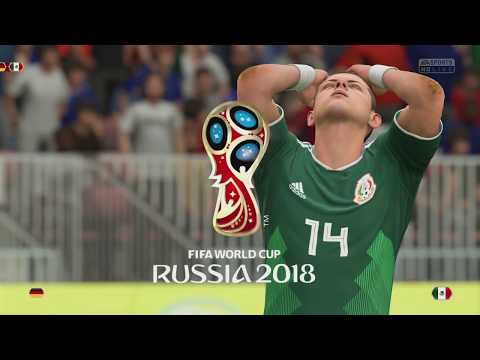 FIFA World Cup Russia 2018  Mexico Vs Germany PlayStation 4 Gameplay 1080p