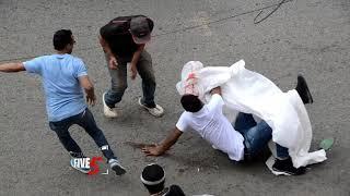 Broma El Muerto Tirado En La Calle (Broma Pesada)