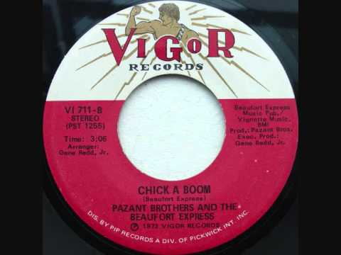 Pazant Bros. & Beaufort Express -  Chick A Boom - 1973