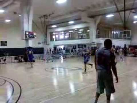 Ishmail Wainright baseline dunk in OKC 2011