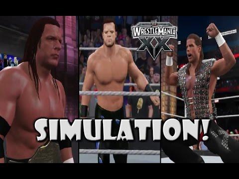 Video WWE 2K15 SIMULATION: Chris Benoit vs Shawn Michaels vs Triple H | Wrestlemania 20 download in MP3, 3GP, MP4, WEBM, AVI, FLV January 2017