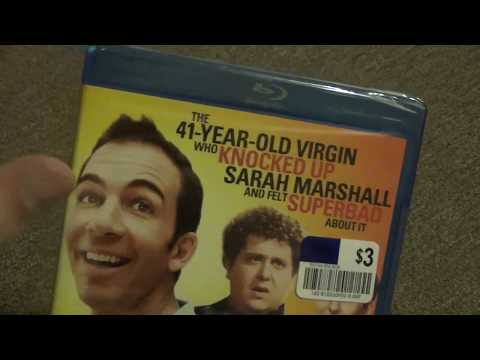 The 41-Year-Old Virgin who Knocked Up Sarah Marshall and felt Superbad About It Blu-Ray Unboxing