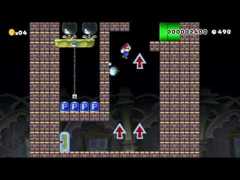 Dont Let Them Press the P-Switch: Beating Super Mario Maker's Requested Levels! (видео)