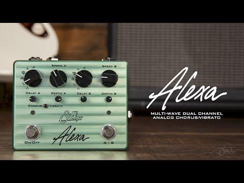 Arriva ALEXA, il Chorus/Vibrato Analogico Due Canali di SUHR!