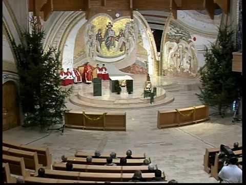 2016-12-26 Karácsony másodnapja, hétfői szentmise a Gazdagréti Szent Angyalok Plébánián