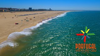 Figueira Da Foz Portugal  city photos gallery : Figueira da Foz and Buarcos aerial view - 4K Ultra HD
