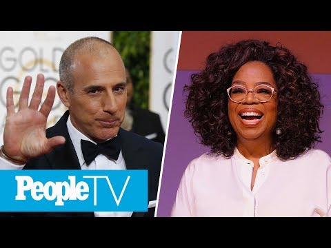 Matt Lauer Breaks His Silence On Rape Allegation, Oprah's 5 Life-Changing Moments | PeopleTV