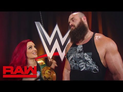Maria Kanellis confronts Braun Strowman: Raw, July 29, 2019