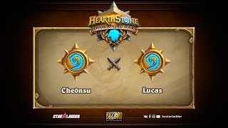 Lucas vs Che0nsu (김천수), game 1