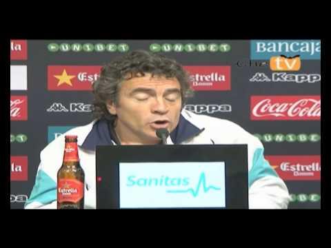 Palabras de Lillo tras el partido contra el Valencia