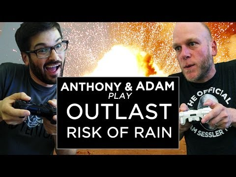 anthony - The day is finally here! Adam Sessler and Anthony Carboni are finally, really, truly going to finish Outlast. Probably. Either way, they'll be playing that, ...