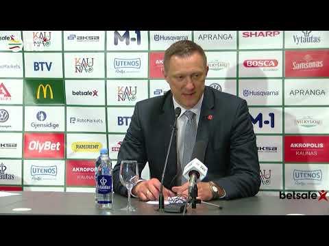 """""""Betsafe–LKL"""" rungtynių komentarai: """"Žalgiris"""" - """"Juventus"""" [2019-05-02]"""