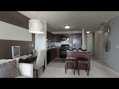 Tour a standard 1-bedroom apartment at The Tides at Lakeshore East