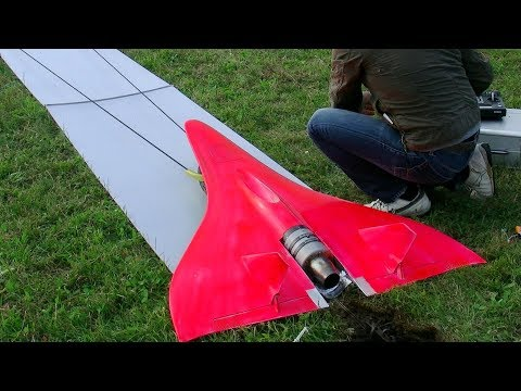Fastest RC turbine model jet (727 km/h, 451 mph)