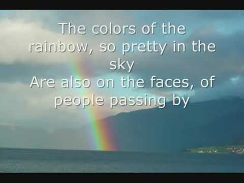 Somewhere Over The Rainbow By Israel Kamakawiwo'ole LYRICS