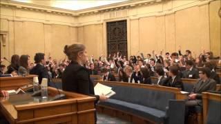 Présentation du Parlement des Etudiants