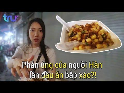 Phản ứng của người Hàn lần đầu ăn bắp xào?! - Thời lượng: 4:02.