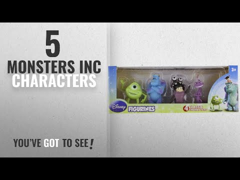 Top 10 Monsters Inc Characters [2018]: Beverly Hills Teddy Bear Company Monsters Inc. Toy Figure,