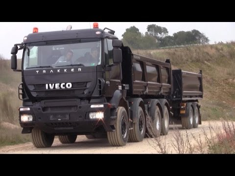 Iveco Trakker 8x4 450 Test Drive Almost Goes Wrong