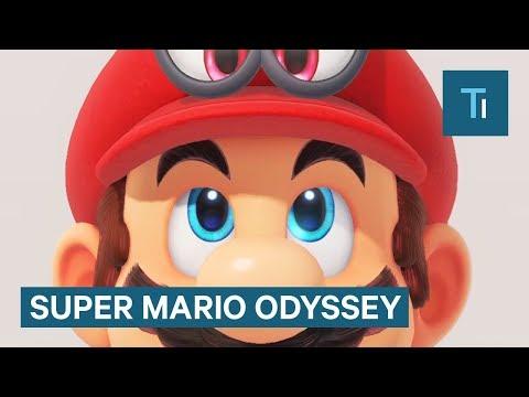 We played the insane new Mario game, Super Mario Odyssey